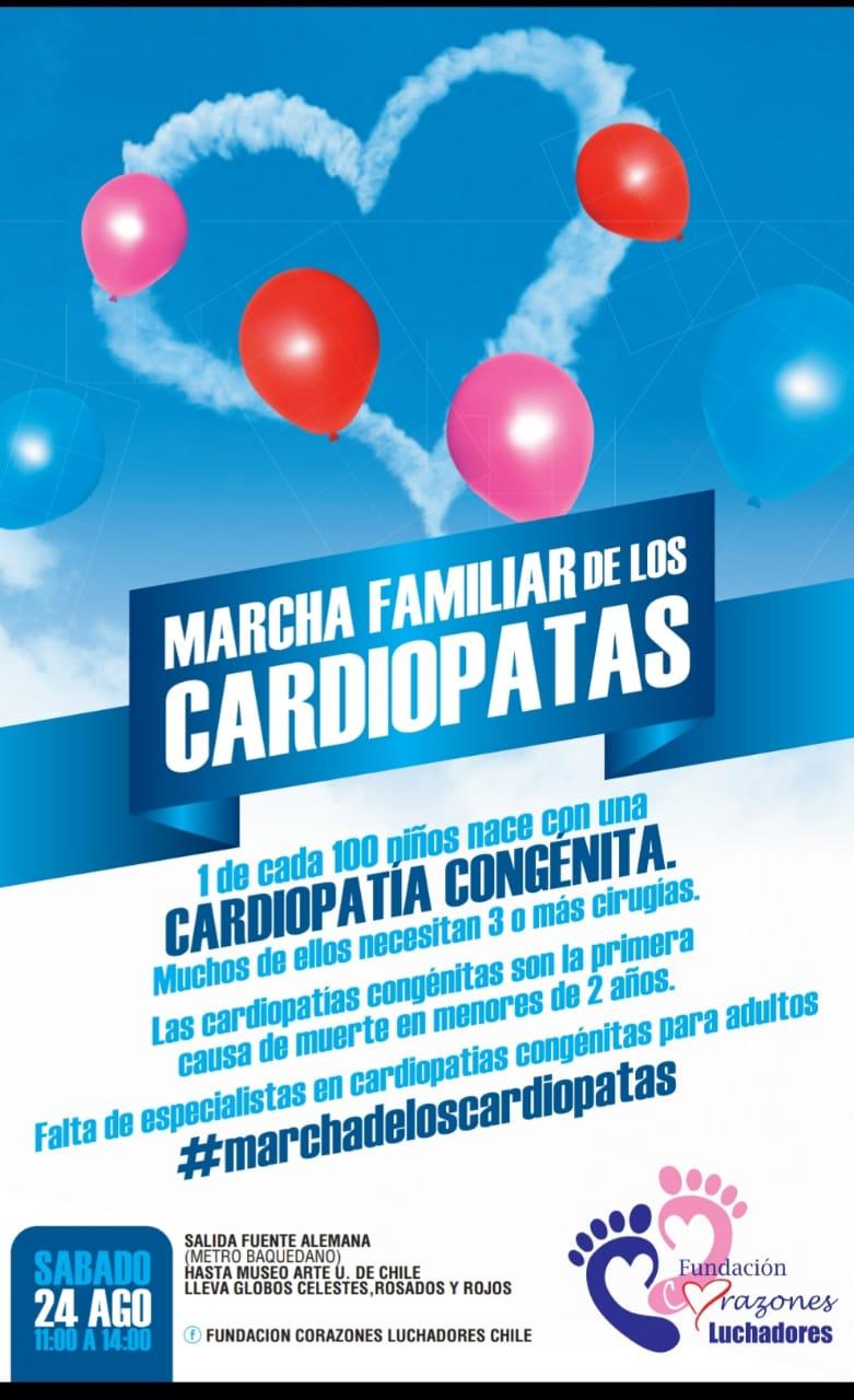 Marcha Familiar de los Cardiópatas