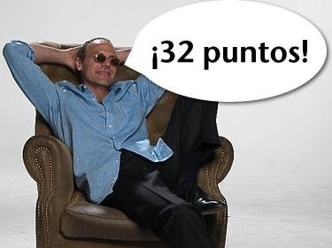 32 puntos marcó el perimer capitulo de Cuenta Conmigo